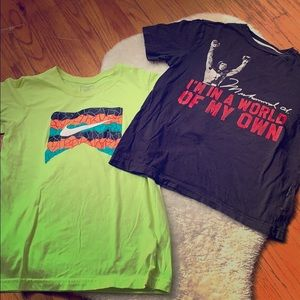 Boys T-shirt Nike and old navy